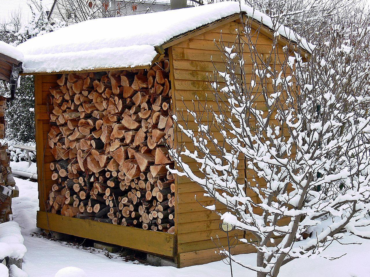 Holz Muss Zwei Jahre Lagern Bevor Es Verfeuert Werden Kann