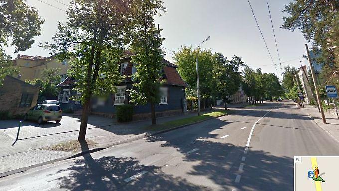 Eine Straße in Vilnius. In den letzten Wochen hatte Google sein Street-View-Angebot bereits um Polen, die Ukraine, Estland und Lettland erweitert.