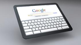 In einer Design-Studie hat Google gezeigt, wie sein Chrome-OS-Tablet aussehen könnte.