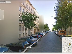 In Google Street View sind zahlreiche Häuser verpixelt - oft gegen den Willen vieler Bewohner.