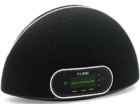 Mehr als ein DAB-Radio: Das Pure Contour ist auch Netzwerk-Player, Internetradio und Dockingstation - kostet aber auch 280 Euro.