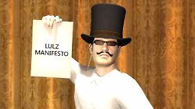 Lulzsec zeigt auf Youtube großes Talent zur Selbstdarstellung.