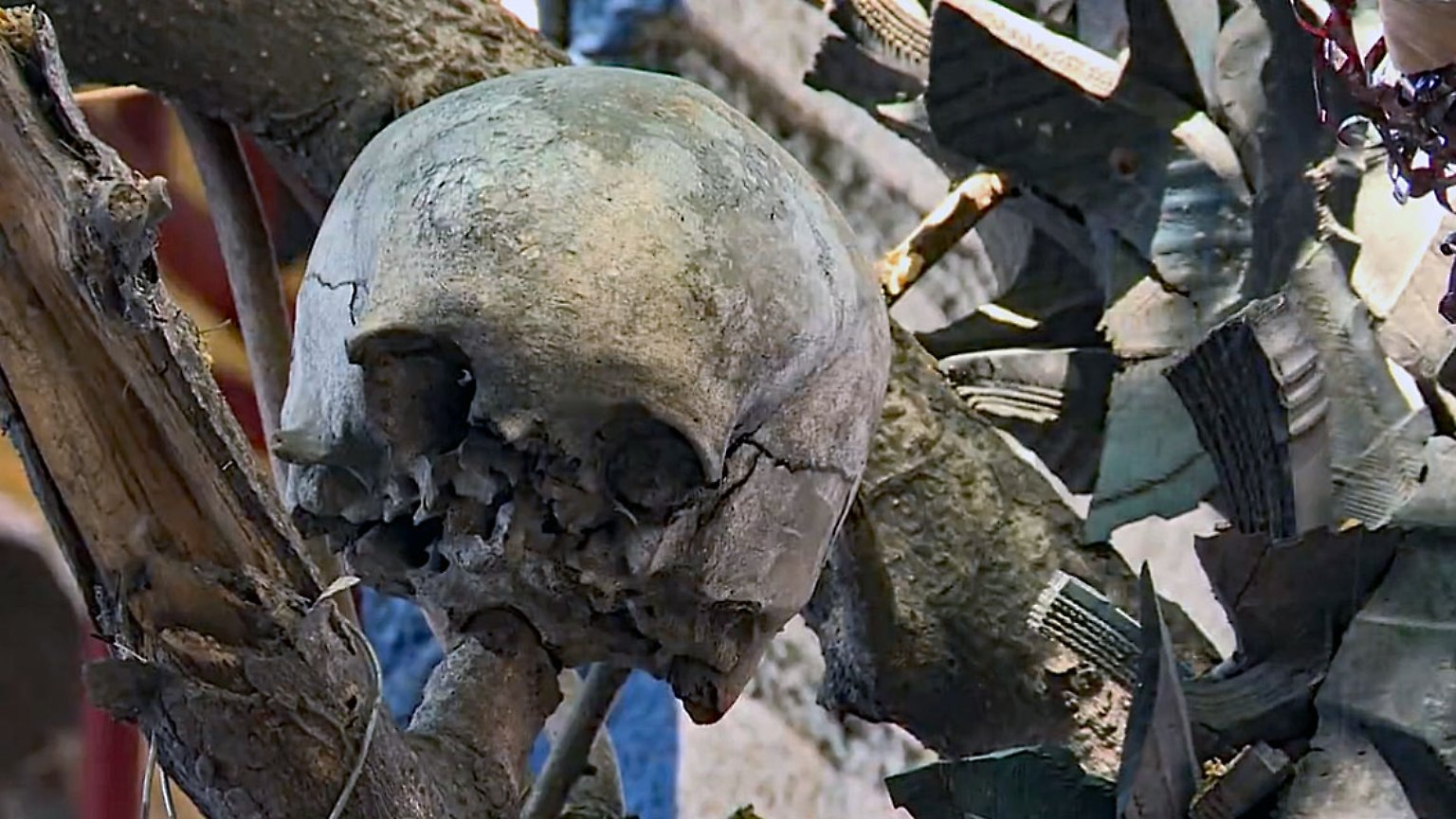 Kunst mit Menschenknochen: In Haiti gehört Voodoo zum Alltag - n-tv.de